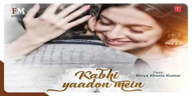 Kabhi-Yaadon-Mein-Arijit-Singh