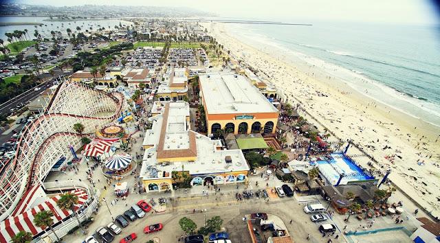 Mission Beach em San Diego