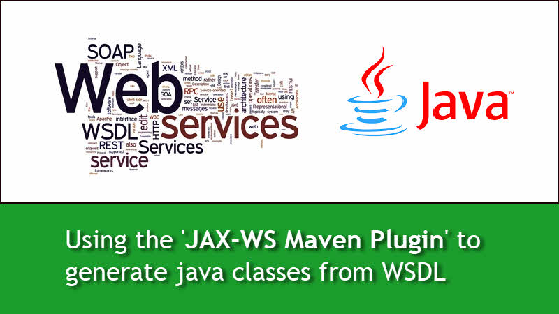 How to parse WSDL using JAX-WS Maven plugin and generate java classes?