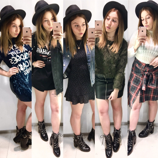 5 Outfits & 1 Fedora