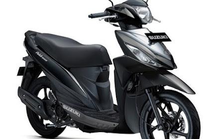 Suzuki Address dengan Pilihan Warna Baru
