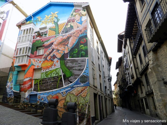 Eskuz Esku Herrería, murales de Vitoria, País Vasco