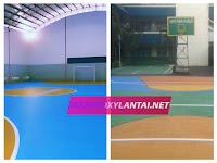 Jasa Pengecatan Lapangan Basket, Tenis, Bola, Voli, Badminton Terpercaya