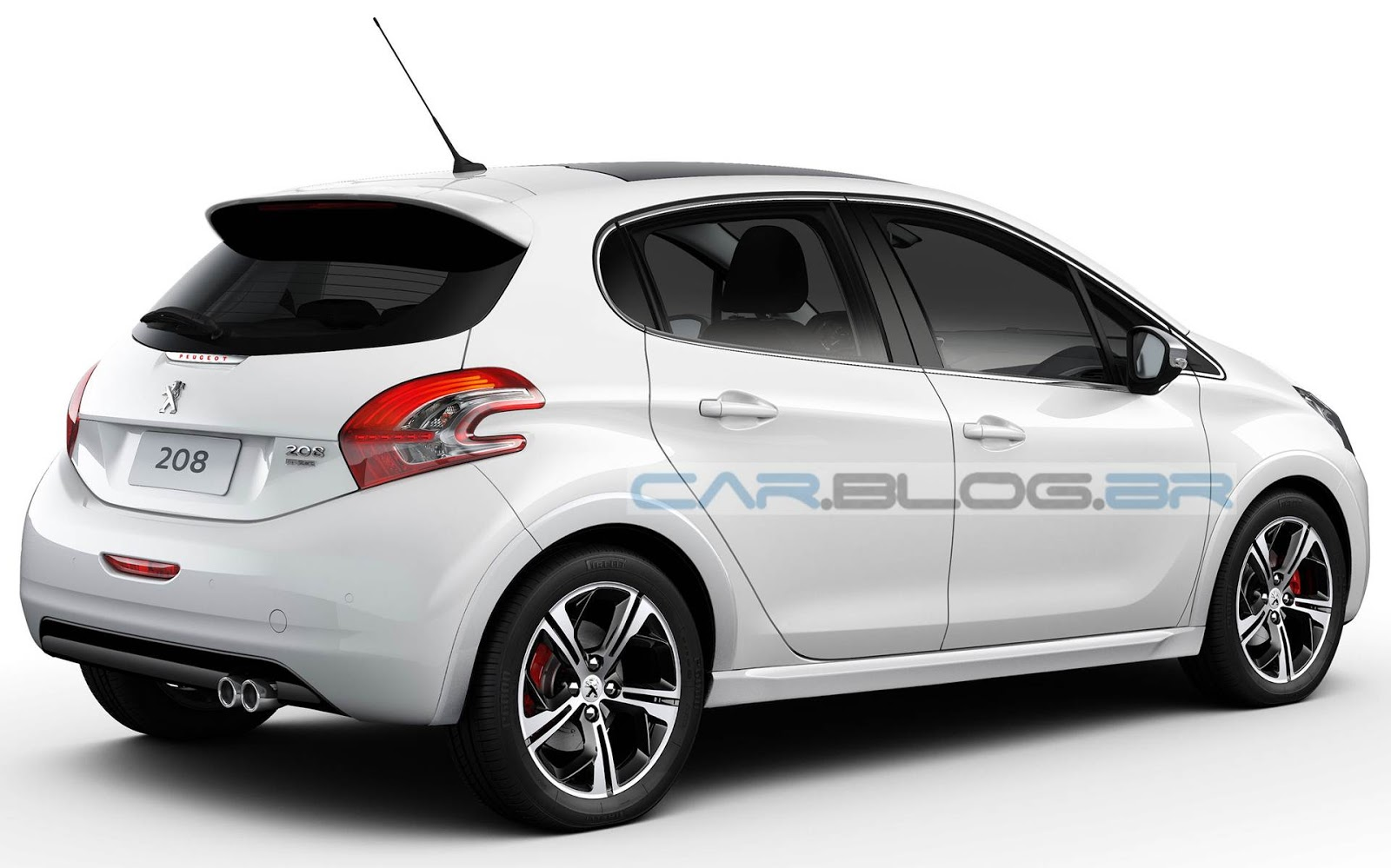 peugeot 208 gti lan amento em 2014 com quatro portas car blog br. Black Bedroom Furniture Sets. Home Design Ideas