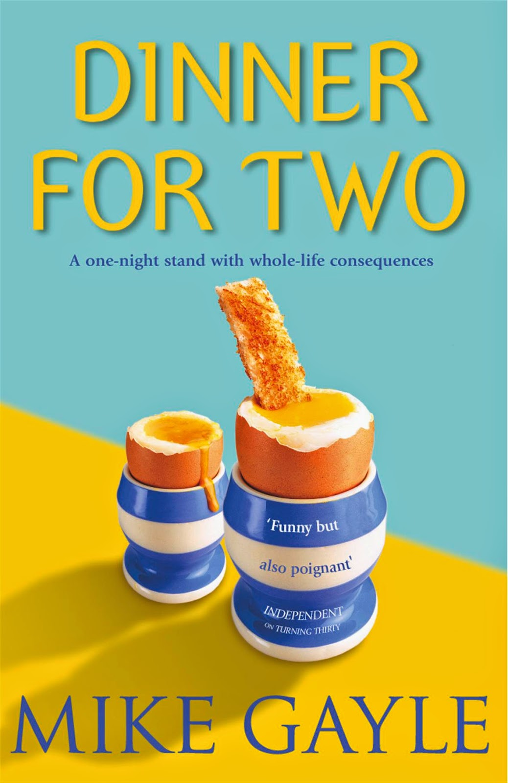 Books For Men Book Reviews: Dinner For Two by Mike Gayle