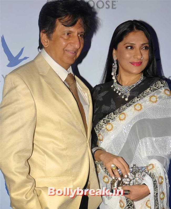 Kailash and Aarti Surendranath, Bollywood Celebs Sizzle at Grey Goose Style Du Jour 2013