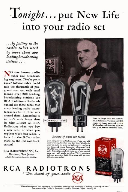 RCA RADIOTRONS 245 250 227