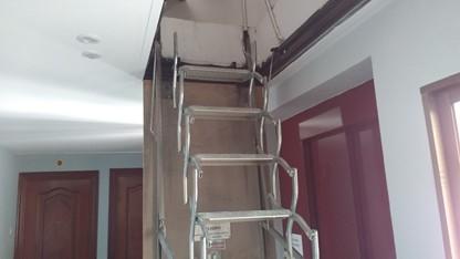 ite la cisterniga cubierta escalera