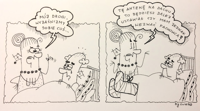 Nie(do)słyszący kontra słyszący, czyli skąpiradło znajdzie się w każdym małżeństwie ;)