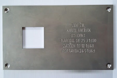 """Last Address"" commemorative plaque"