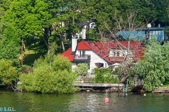 Estocolmo. Navegando por el lago Mälaren