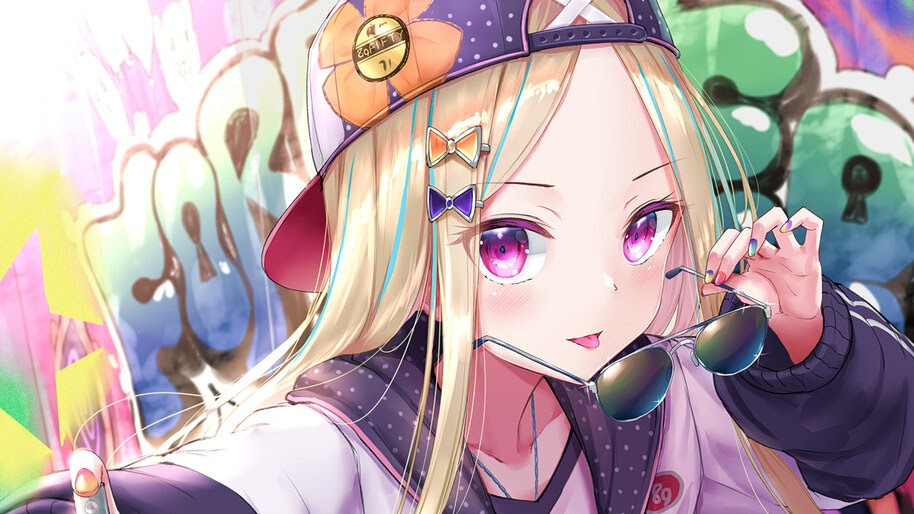 Cute, Anime, Girl, Glasses, Abigail, Williams, Fate/Grand Order, 4K, #6.1027