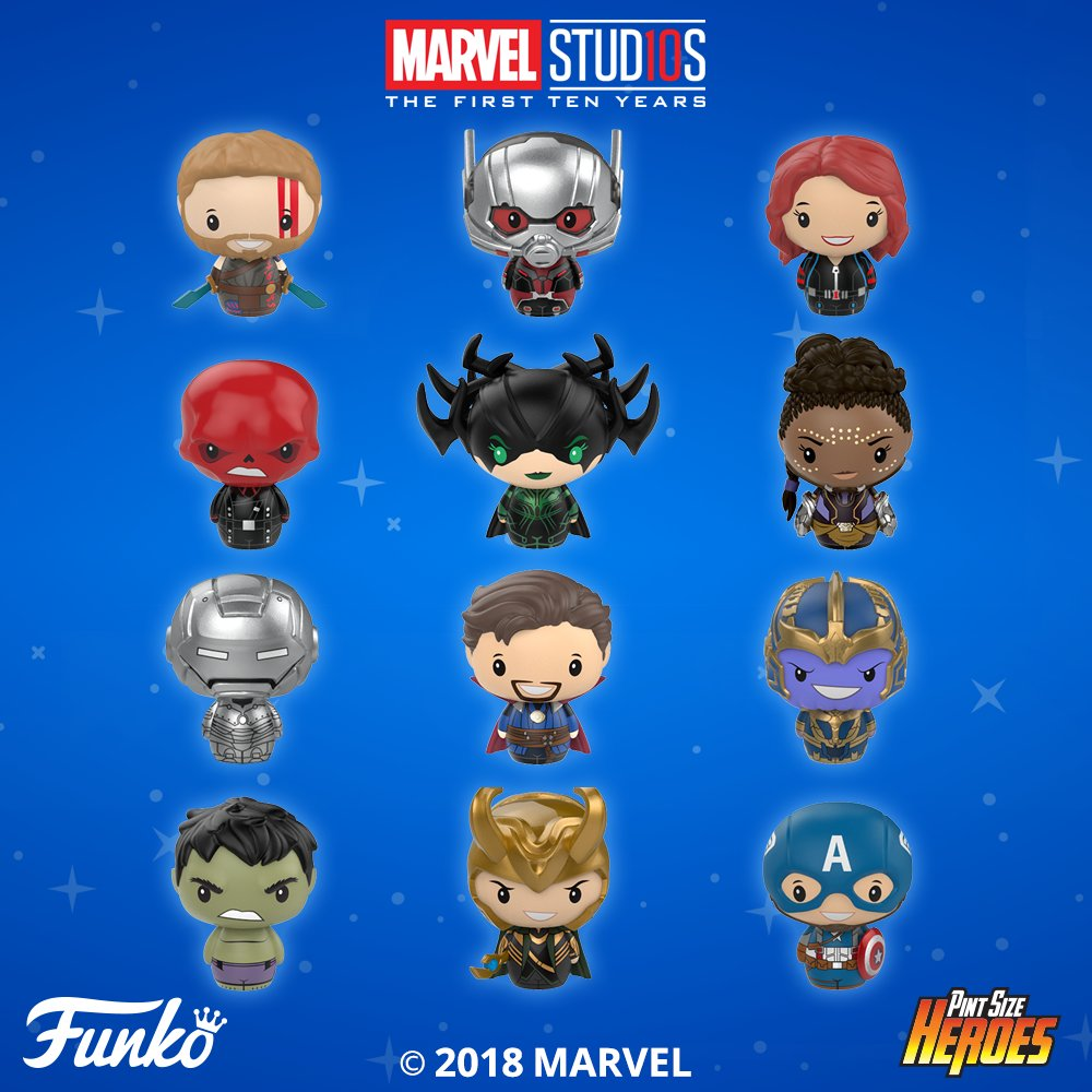2675c35037c3 Marvel Studios: The First 10 Years Pint Size Heroes Blind Bag Series by  Funko