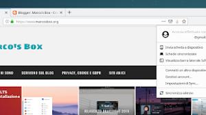 Firefox 67 mostrerà l'avatar dell'account utente nella barra degli strumenti