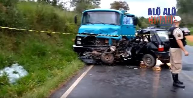 Motorista morre em acidente - Foto: Alô Alô Cidade