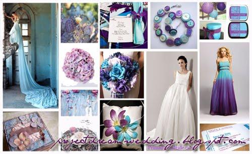 Wedding Colors Light Blue And Purple
