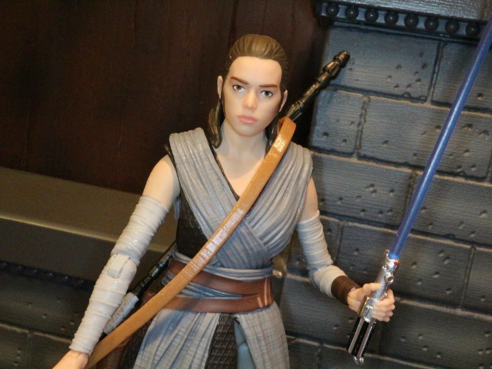 Rey: Action Figure Barbecue: Road To The Last Jedi: Rey (Jedi