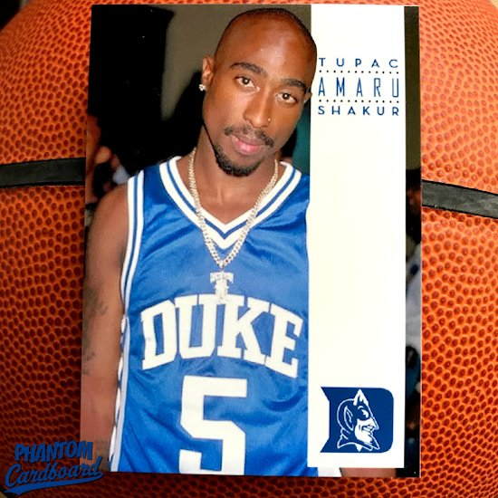 da0256a7d73 When you think of Duke basketball you probably don't also think of hip hop  culture, except for that iconic photo of Tupac rocking former Dukie guard  Jeff ...