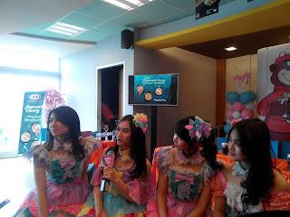 JKT48 ketika Launching menu baru Japanese Cury Premium Mixbowls