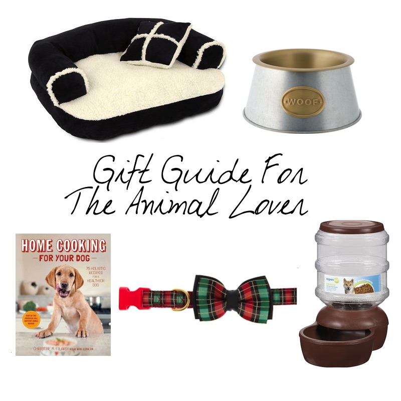 gift guide for the animal lover