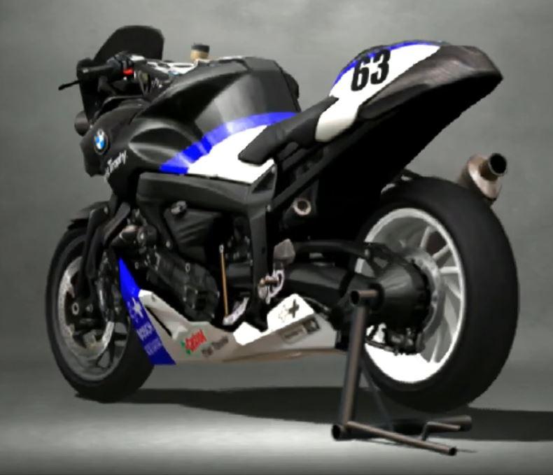 BMW Motorrad K1200R Racing Modify 2005