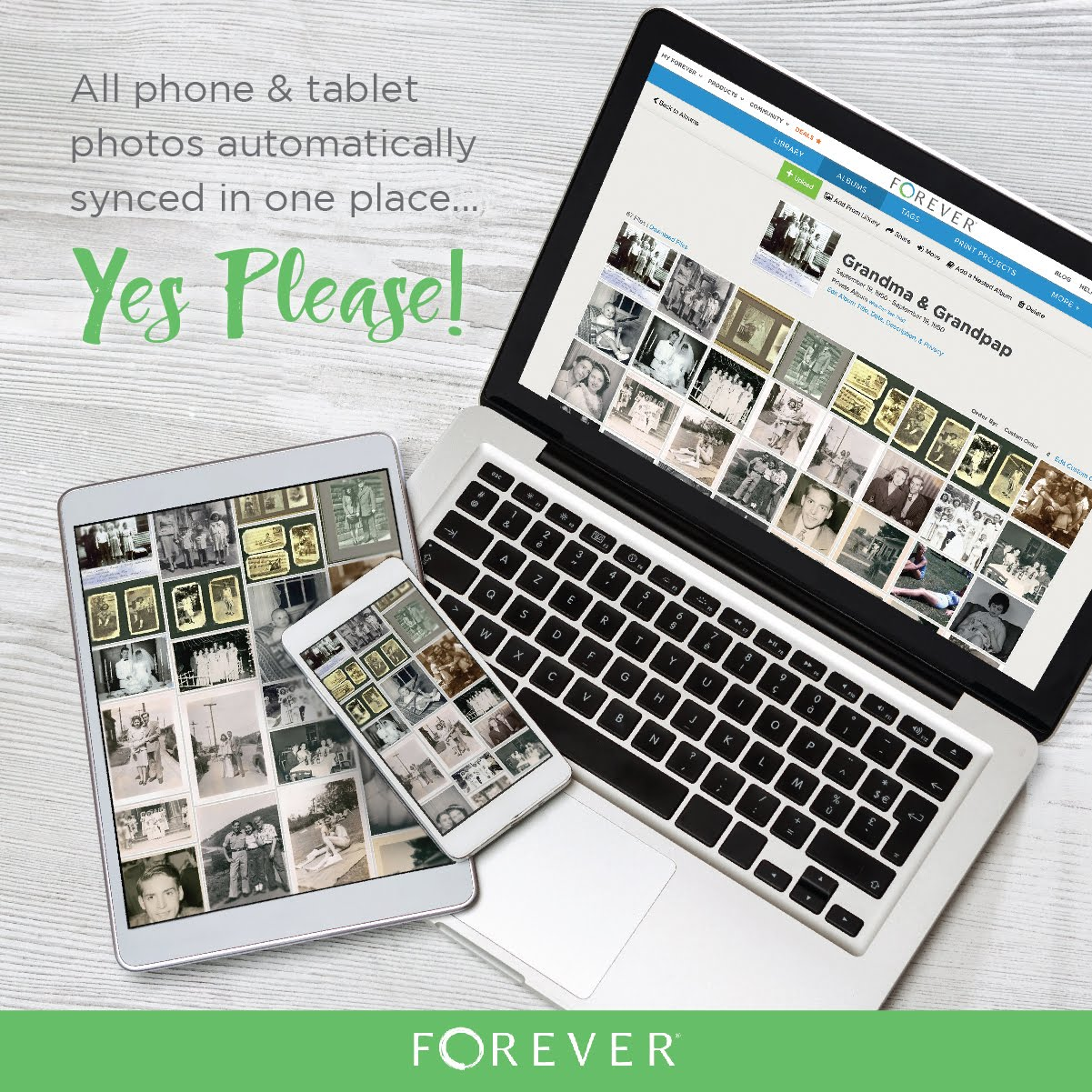Start your digital journey with Forever!