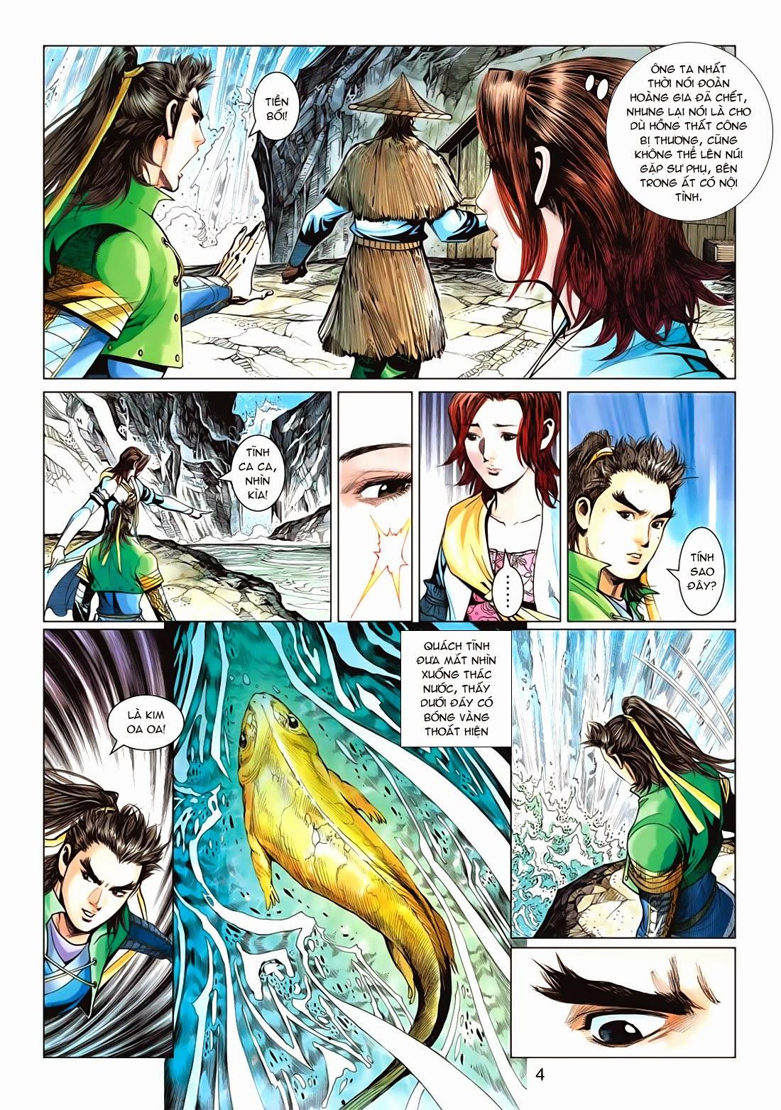 Anh Hùng Xạ Điêu anh hùng xạ đêu chap 72: ngư tiều canh độc trang 4