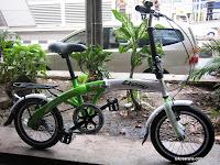Sepeda Lipat Exotic Simple Life 2.0 16 Inci