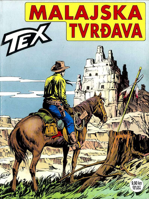 Malajska Tvrdjava (SD) - Tex Willer