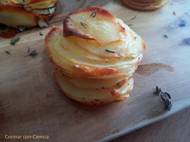 Flores de patata y parmesano para guarnici n cocinar con - Flores para cocinar ...