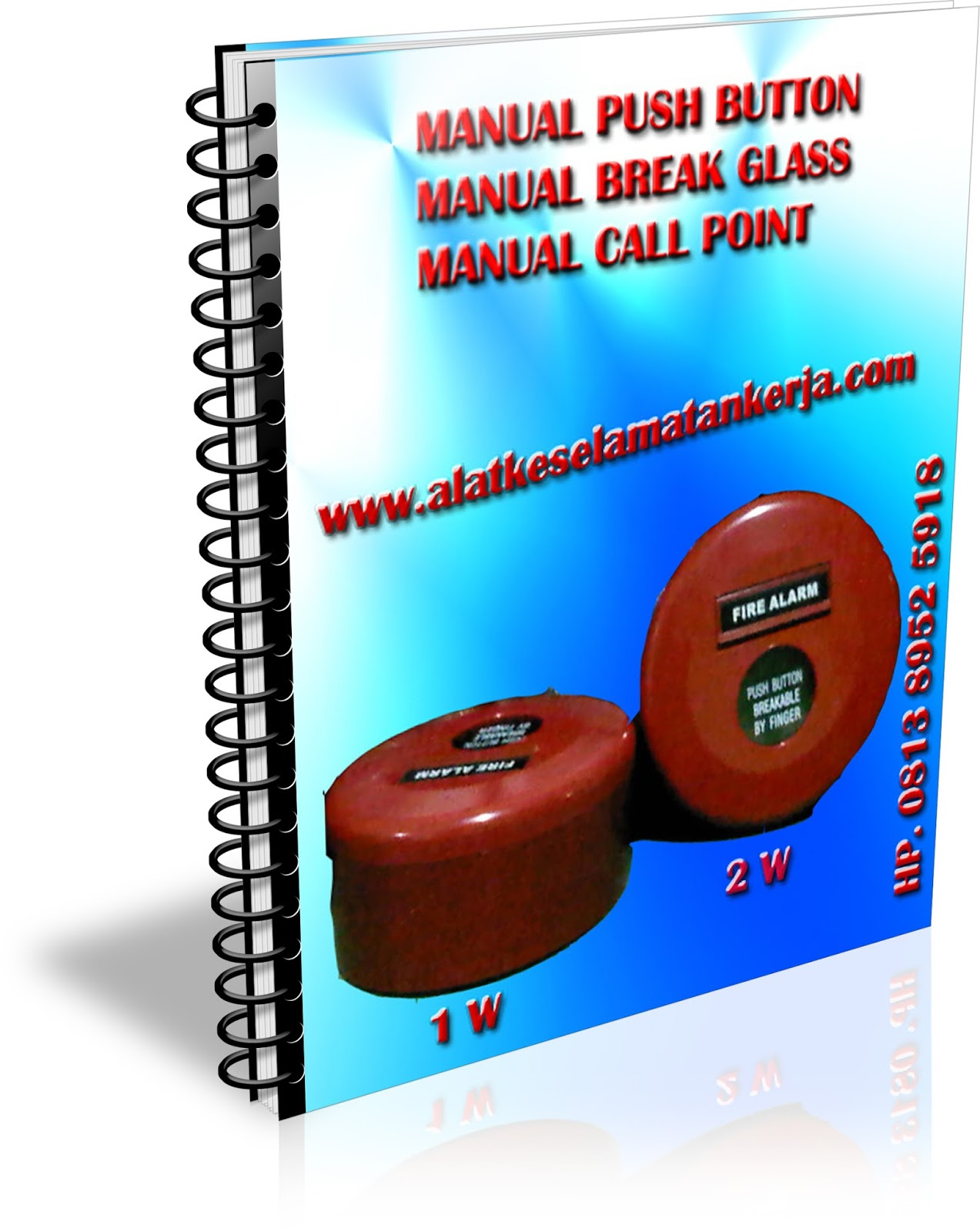 Manual Break Glass Fire Alarm System Conventioanl