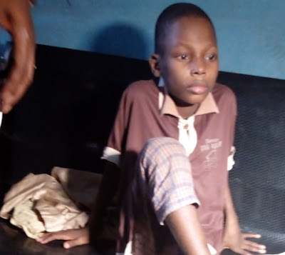 nigerian boy chained grandmother ogun state