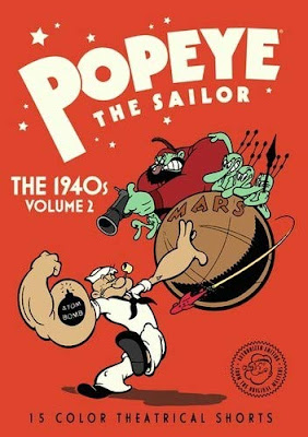 Popeye The Sailor The 1940s Volume 2 Dvd