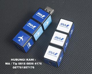 USB FLASH DRIVE RUBIK, USB unik berbentuk Rubiks, USB Mini IQ Cube Flash Drive, Flashdisk Rubik – FDSPC25