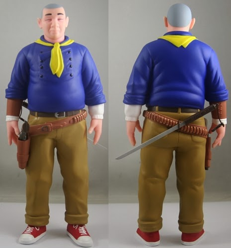 Rio Grande Edition Shaolin Cowboy Vinyl Figure by Geof Darrow & Wednesday's Finest