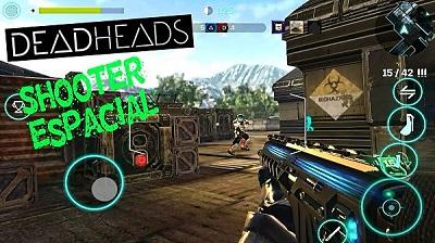 Dead Heads juego shooter espacial