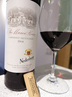 Nederburg Manor House Cabernet Sauvignon 2014 (87 pts)