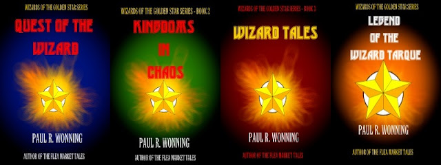 Wizard of the Golden Star Series Epic Fantasy Series