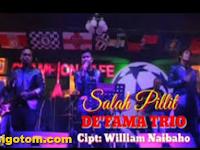 Lirik Lagu De'fama Trio Salah Pillit Dan Kunci Gitar Lagu Batak Salah Pillit