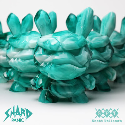 "Designer Con 2018 Exclusive Panic Shard Dunny 5"" Resin Figure by Scott Tolleson x Kidrobot"