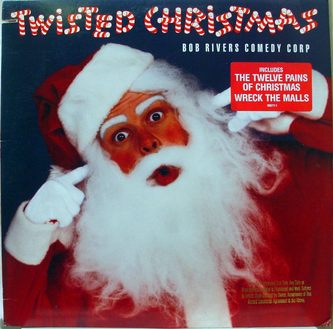 Vintage Stand Up Comedy Bob Rivers Twisted Christmas 1987