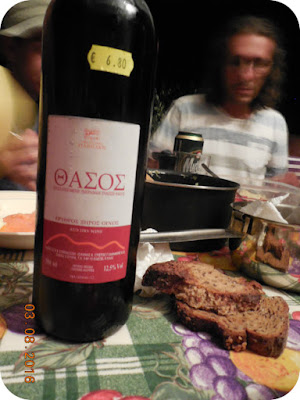 Thassos red wine