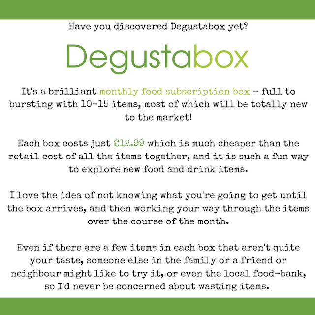 Degustabox Food Boxes info