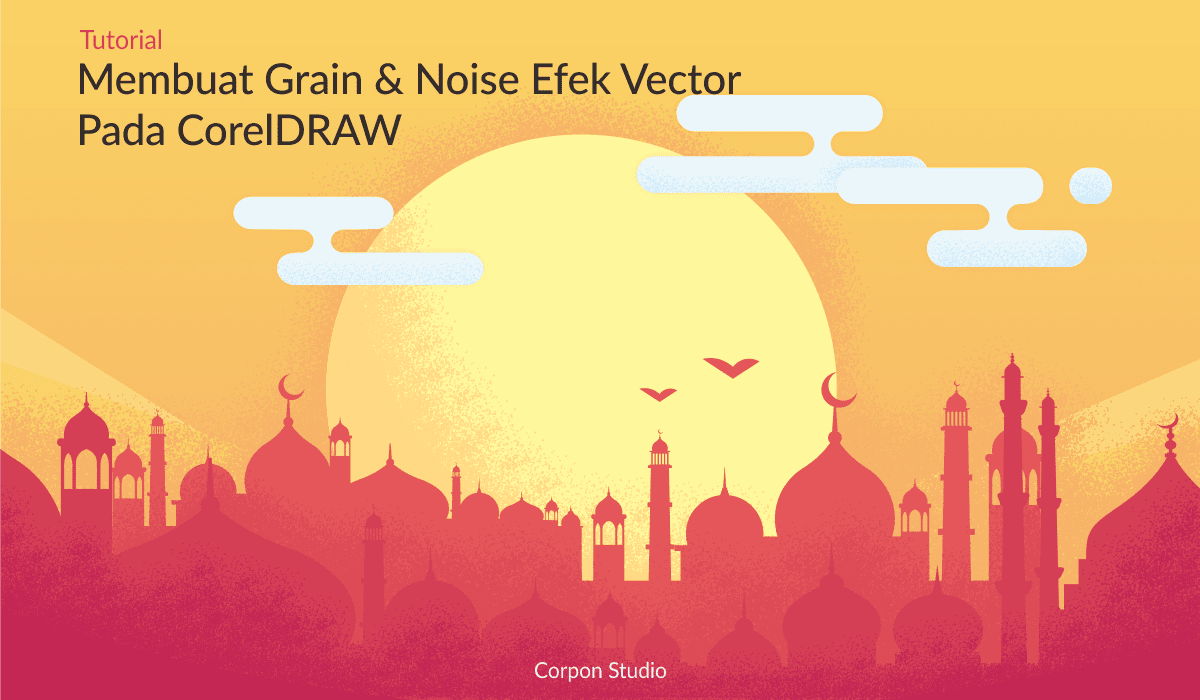 Efek Grain and Noise di CorelDRAW