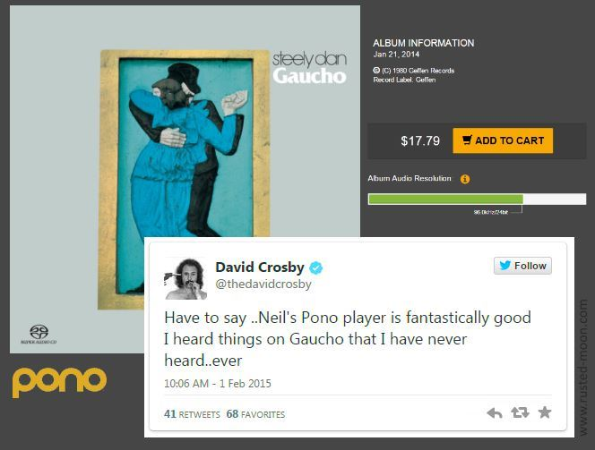 David Crosbys Pono Tweet