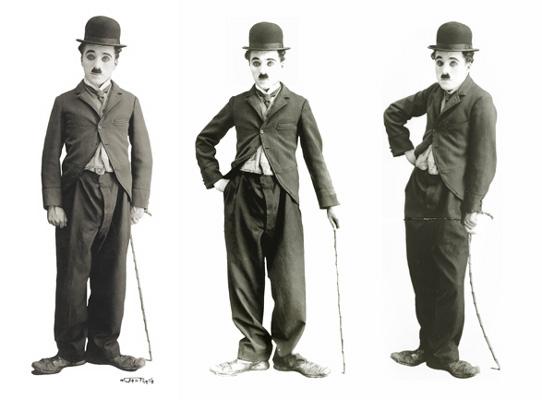 gaya Charlie Chaplin