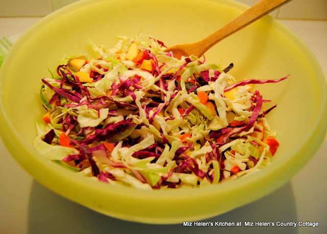 Old Fashioned Coleslaw at Miz Helen's Country Cottage
