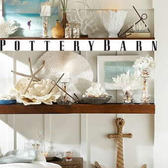 Beach Bliss Decor at Pottery Barn