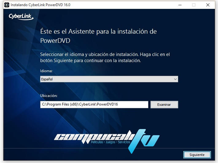 PowerDVD 16.0.1510.6 Ultra Español CyberLink Reproductor HD
