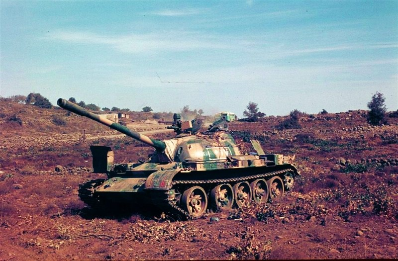 Ed Okun Quot Modeling Military History Quot Syrian T 55 In 1973